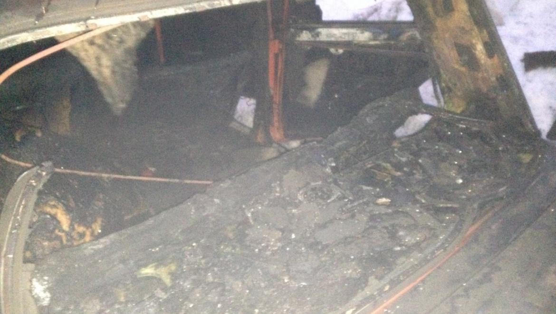В Кувандыке водитель сгорел за рулем