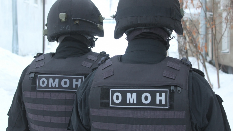 ОМОН оказал силовую поддержку при задержании орских грабителей