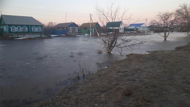 В Тоцком районе над 228 домами нависла угроза подтопления