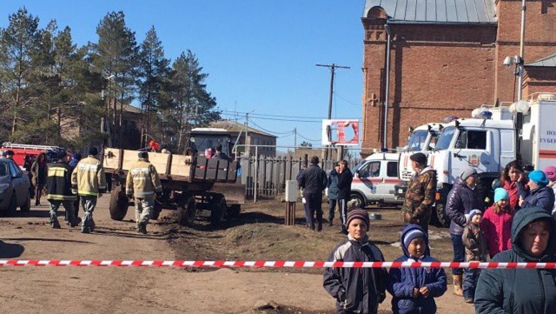 В Краснохолме эвакуировано 211 человек