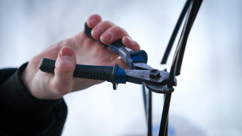 В Бугуруслане украдено 7 км кабеля