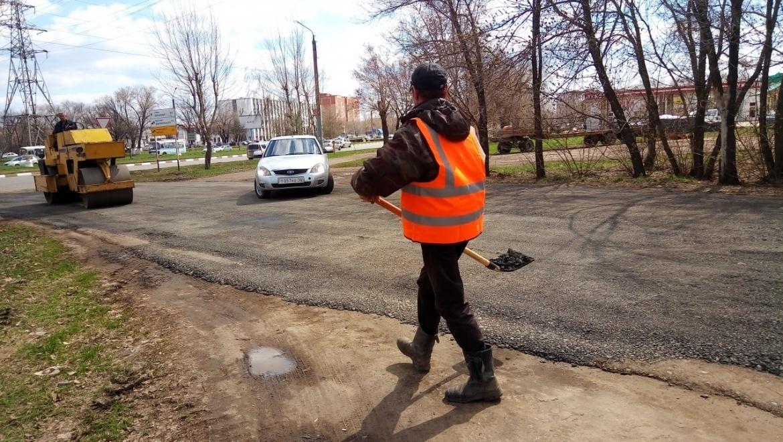 В Оренбурге идет масштабный ремонт дорог