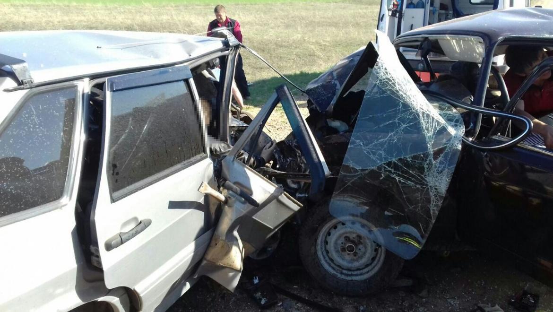 Жуткое ДТП в Новосергиевском районе: 4 погибло, 5 - госпитализировано