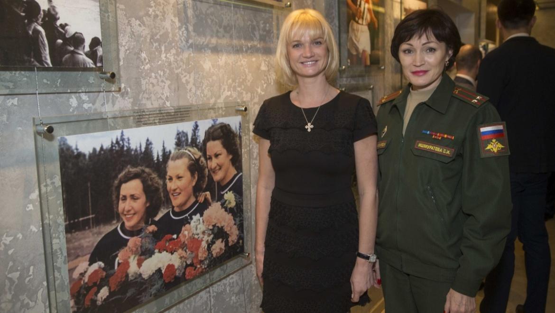 Оренбург посетили Олимпийские чемпионы Светлана Хоркина и Светлана Ишмуратова
