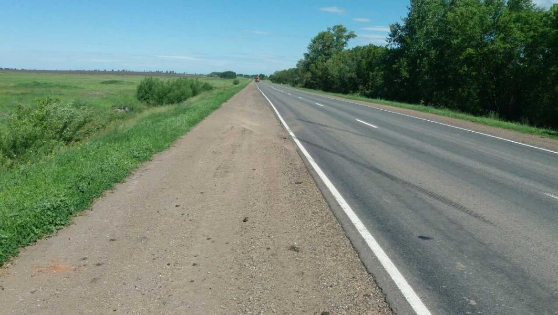 ДТП на трассе Оренбург-Казань