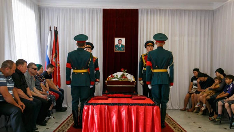 ВСоль-Илецке сегодня простятся спогибшим вСирии командиром  Афанасовым