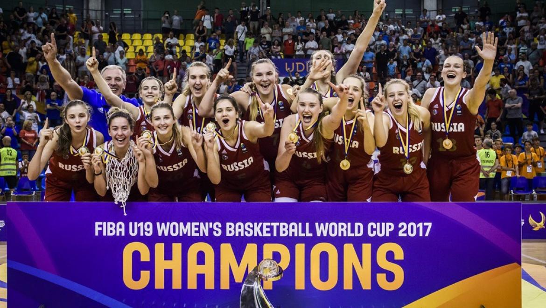 Сборная России по баскетболу стала победителем чемпионата мира U-19 в Италии