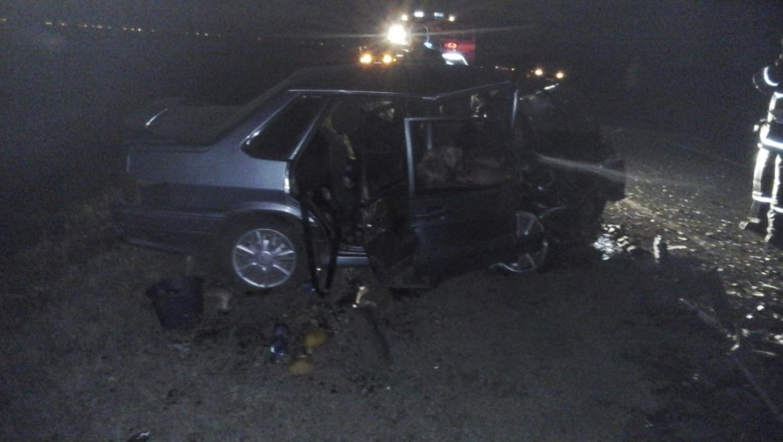Жуткая авария с погибшими на автодороге Каменоозерное-Медногорск