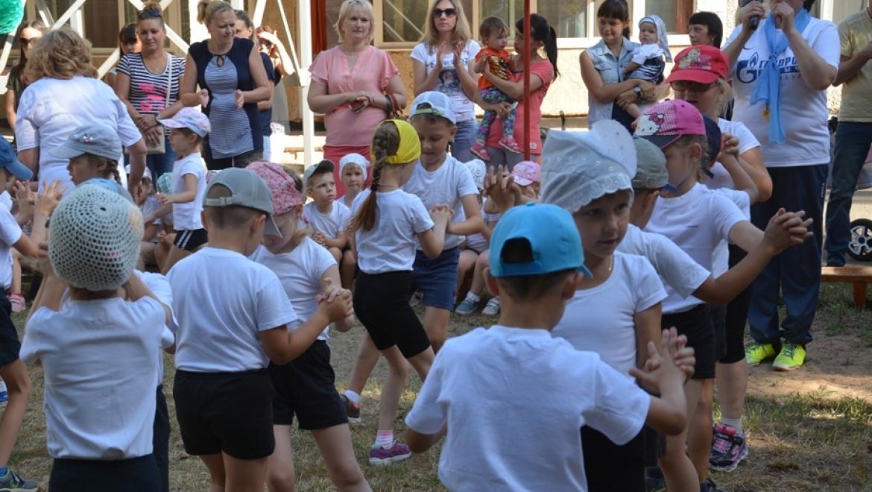 В детских садах проходит «неделя спорта»