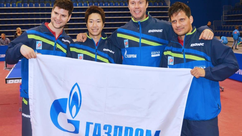 Оренбургский клуб настольного тенниса «Факел-Газпром» получил европейскую награду
