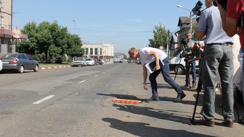 В Бузулуке проверили качество дорог