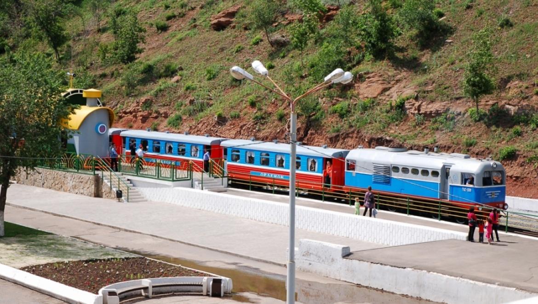 Более 20 тыс. пассажиров прокатились на  оренбургской детской железной дороге