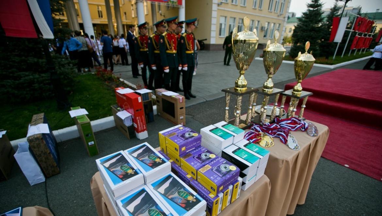 В Оренбурге вручены награды победителям «Зарницы Поволжья-2017»