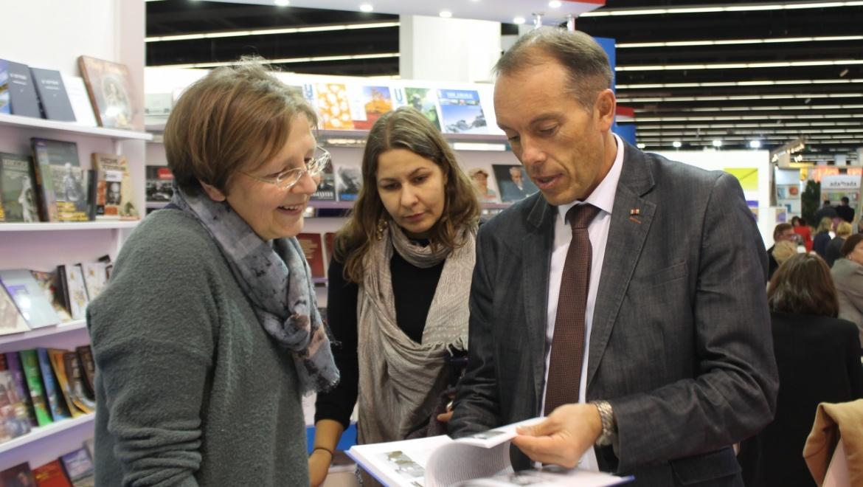 Оренбуржцы представили во Франкфурте книжные новинки