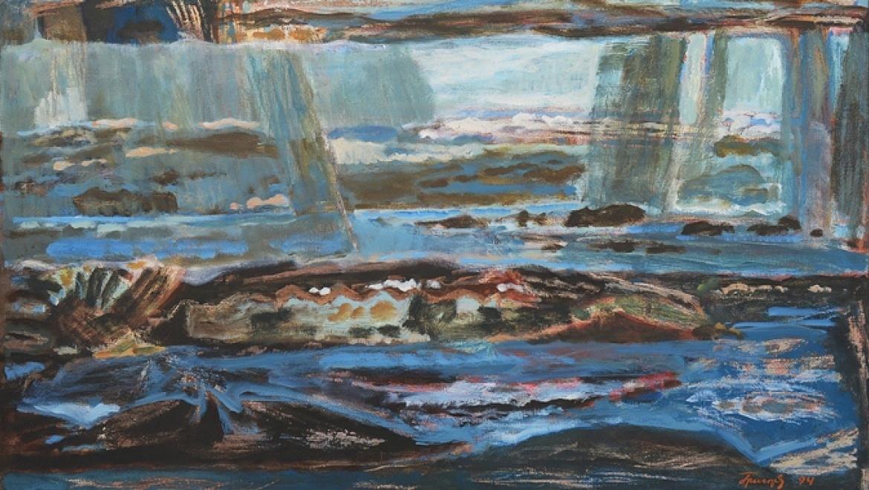 10 ноября откроется выставка  Юрия Григорьева «Живопись»