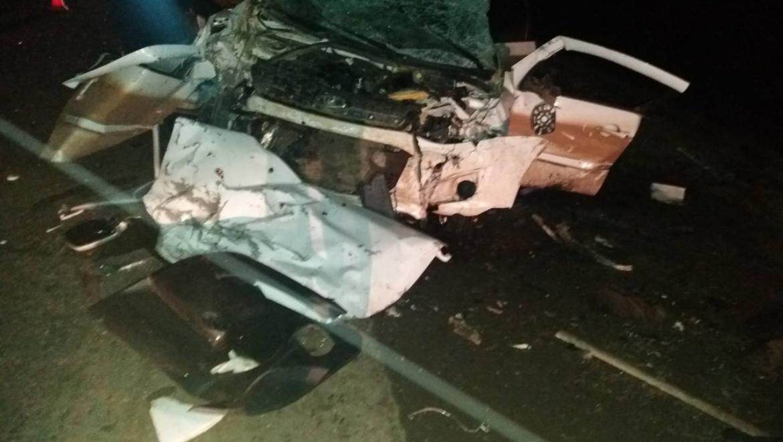 Жуткая авария на трассе Казань-Оренбург
