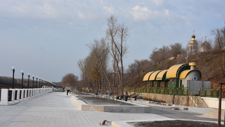 Обновленная Набережная станет доступна для оренбуржцев уже в середине декабря