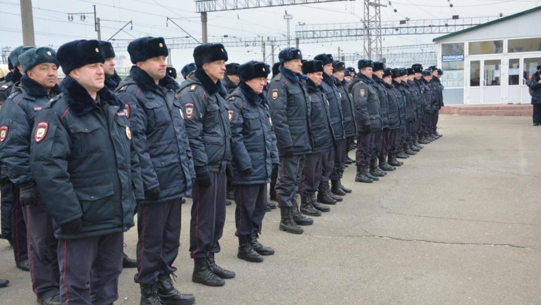 Отряд полиции отправился на Северный Кавказ