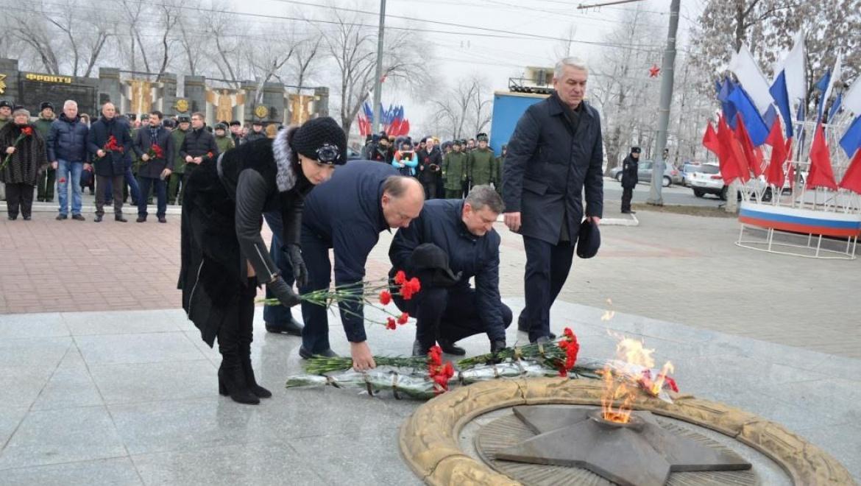 В Оренбурге прошли торжественные мероприятия в память о погибших воинах