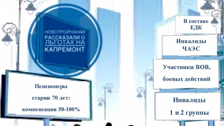 Почти 8 тысяч оренбуржцев  воспользовались льготами на оплату взносов на капремонт