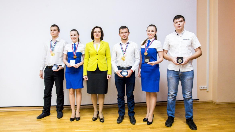 Церемония чествования победителей и призеров чемпионата «Молодые профессионалы» WorldSkillsRussia