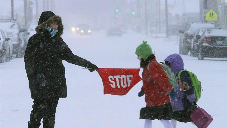 В морозы школьники учиться не будут