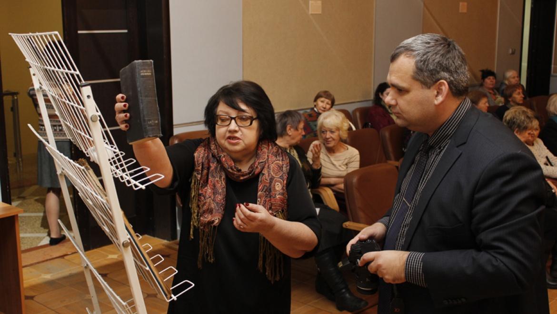 В Областной библиотеке им. Н. К. Крупской прошла церемония передачи культурных ценностей