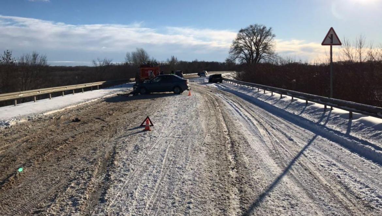 ВДТП под Оренбургом умер шофёр автомобиля ВАЗ