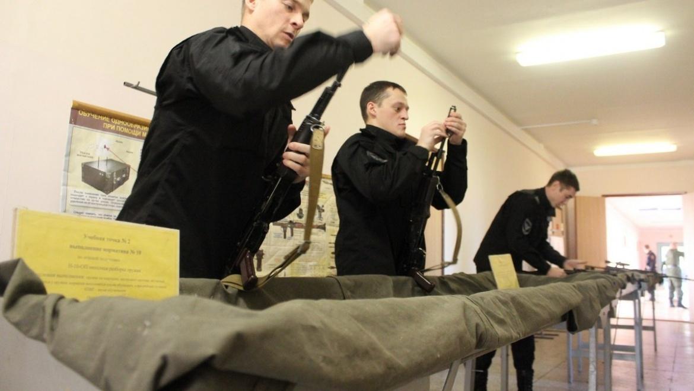 Оренбургские омоновцы вернулись из учебного центра профессиональной подготовки