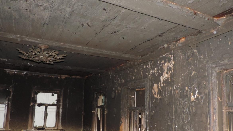Подожгла дом сожителя на почве ревности