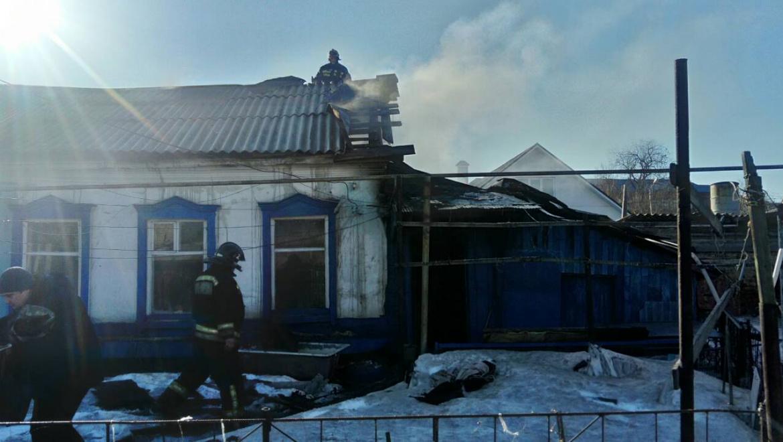 Семь пожаров — один пострадавший
