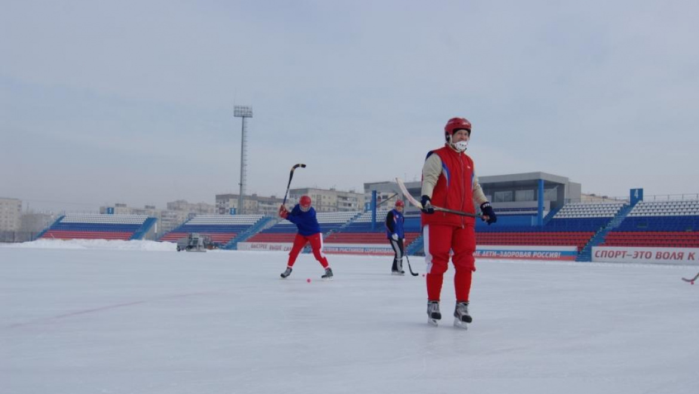 День зимних видов спорта в Оренбурге