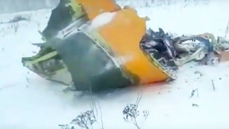 Уточненная информация о ликвидации последствий падения самолета АН-148 выполнявший рейс г. Москва (Домодедово) – г. Орск Оренбургской области