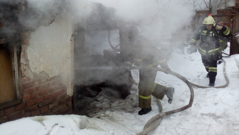 Шесть пожаров в Оренбуржье 11 и 12 февраля