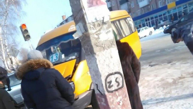 ДТП с участием маршрутной «Газели»