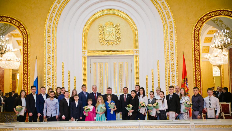 Спортсменам и тренерам Оренбуржья вручены премии Губернатора