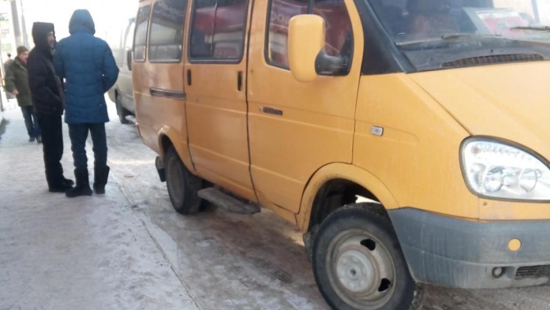 Разбойное нападение на водителя маршрутного такси