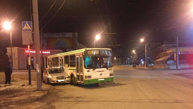 ДТП в центре Оренбурга