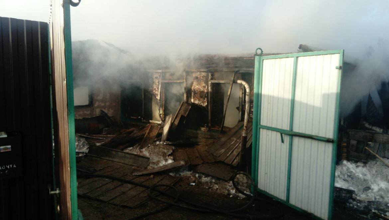 15 марта в пожаре погиб мужчина