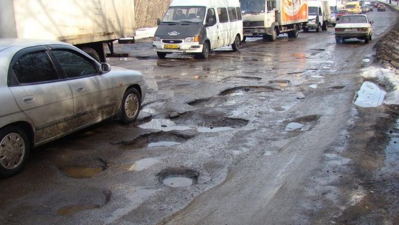 В Оренбурге уже ведется ремонт дорог
