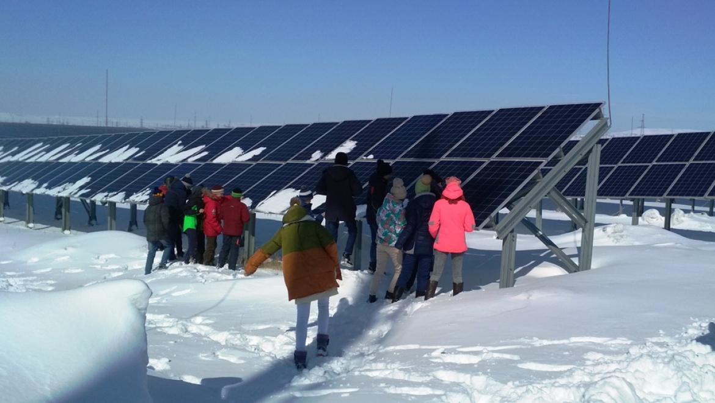 Экскурсия на солнечную электростанцию