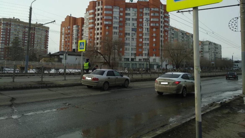Сбита пенсионерка на улице Терешковой