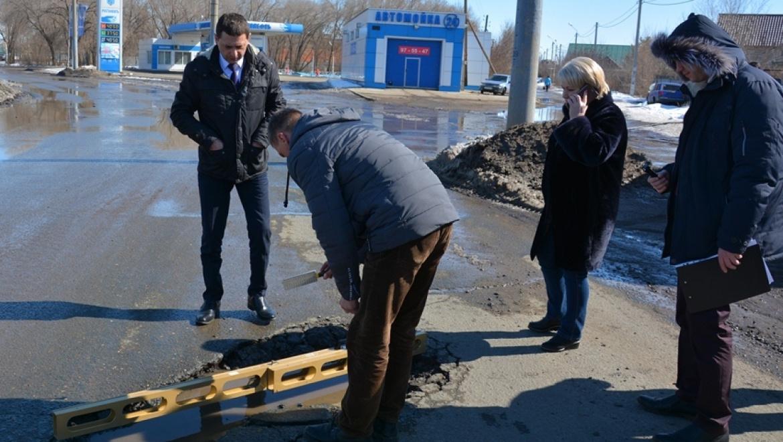 Рейд по проблемным дорогам Оренбурга