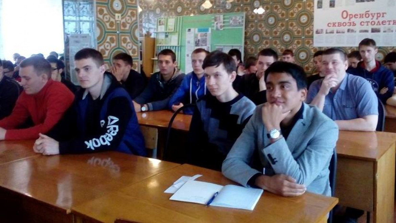 Встреча Хомутова со студентами