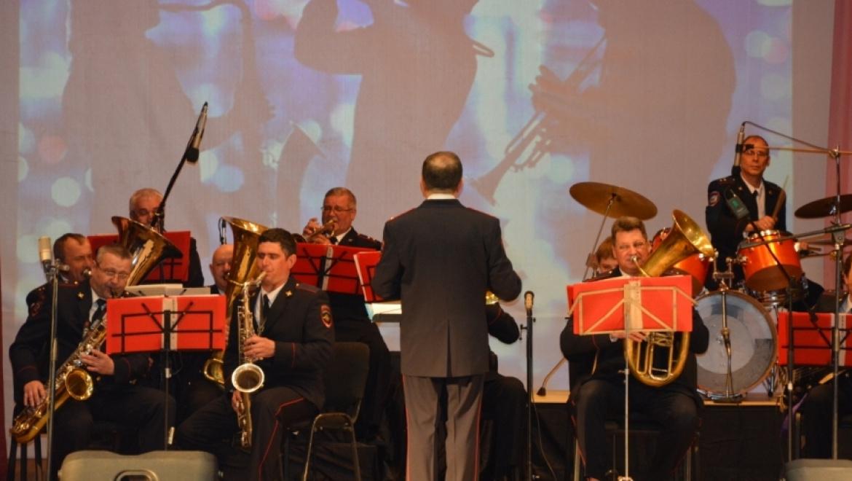 Оркестру УМВД России по Оренбургской области исполнилось 25 лет