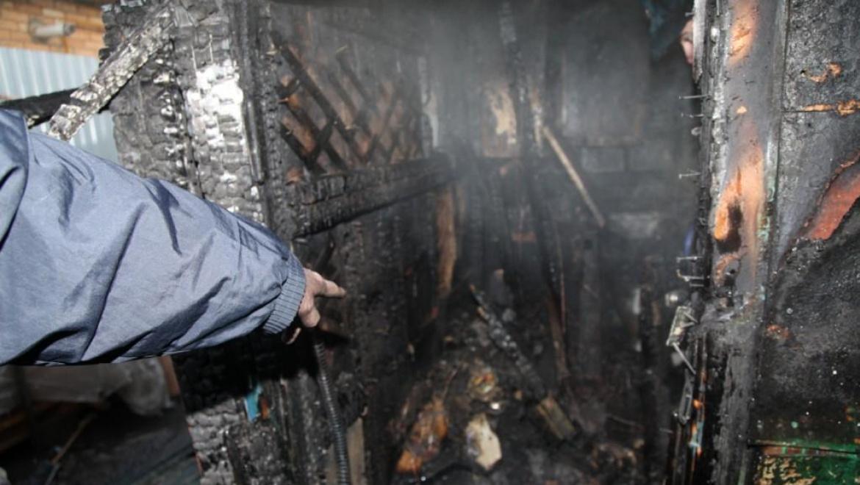 За выходные дни в Оренбуржье произошло десять пожаров