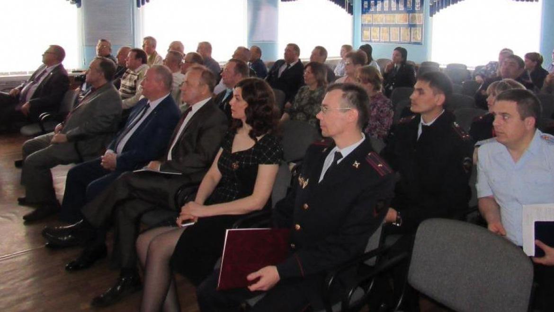 Торжественное мероприятие в честь ветеранов органов внутренних дел РФ