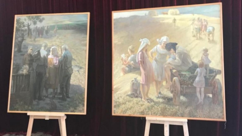 Музей истории города приглашает на открытие выставки Константина Кузенова