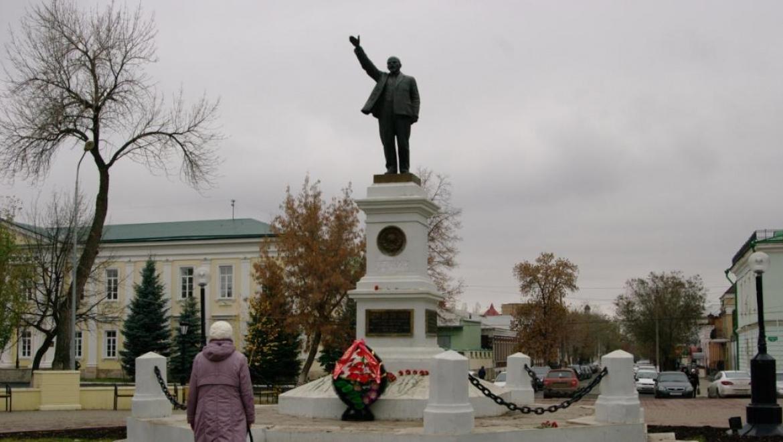 Намечен план по реставрации памятника В.И.Ленину