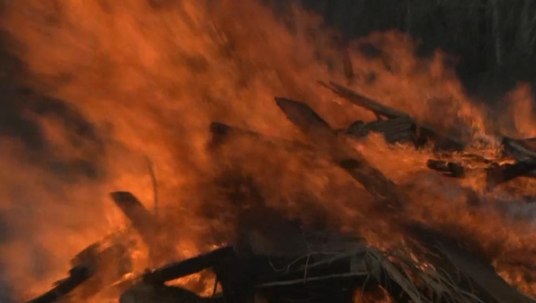 Шесть пожаров произошло 28 мая в Оренбуржье